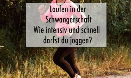 Laufen in der Schwangerschaft – Wie intensiv und schnell darfst du joggen?