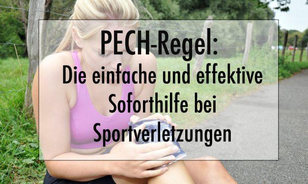 PECH-Regel: Die einfache und effektive Soforthilfe bei Sportverletzungen
