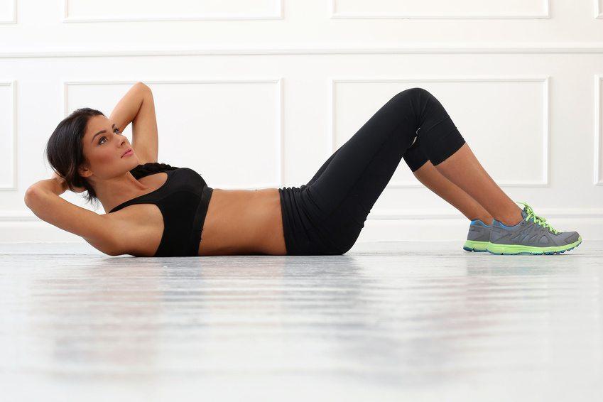 Fitnesstraining mit Sport BH