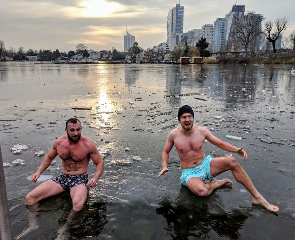 Kalt duschen männer