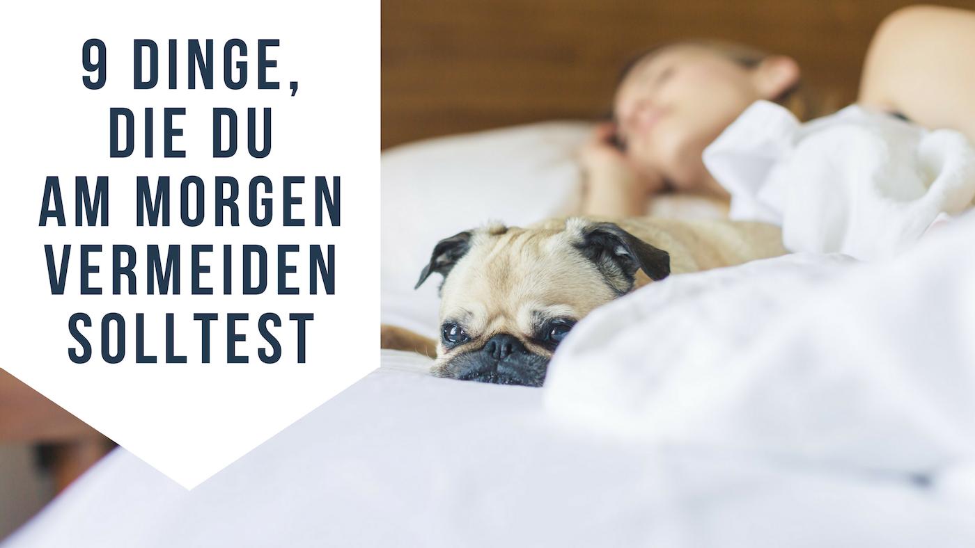 richtig aufwachen 9 dinge die du am morgen nicht machen. Black Bedroom Furniture Sets. Home Design Ideas
